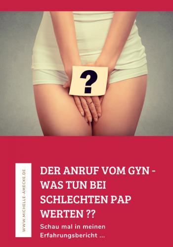 Schlechte Pap Werte und Gebärmutterhalskrebs